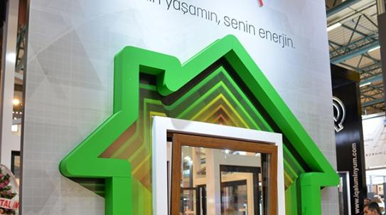 Pimapen Avrasya Pencere Fuarı'nda 2018 Konseptini Tanıttı.