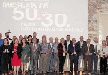 Les Activités organisées par la Chambre des Architectures d'İzmir à l'occasion de la Semaine des Architectes ont été réalisées cette année sous le parrainage de Pimapen.